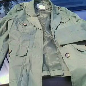 Michael Kors Jacket Military Style Size PL EUC